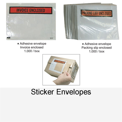 STICKER ENVELOPES