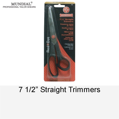 STRAIGHT TRIMMERS 7.5""