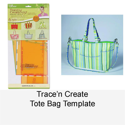 TRACE'N CREAT TOTE BAG TEMPLATE