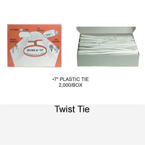 TRASH BAG - TWIST TIE