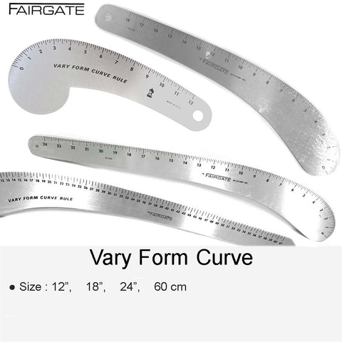 "VARY FORM CURVE 12"" 18"" 24"" 60"""