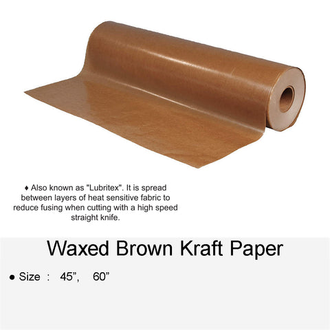 WAXED BROWN KRAFT PAPER