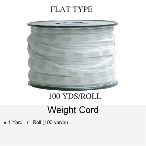 WEIGHT CORD FLAT TYPE