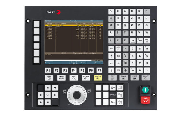 CNC 8037 M for Milling Machines (Entry Level)