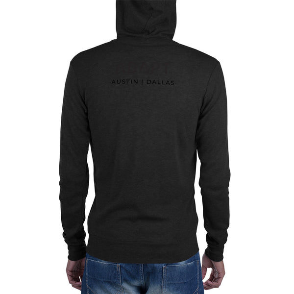 Adapt Light-Weight Unisex Zip Hoodie