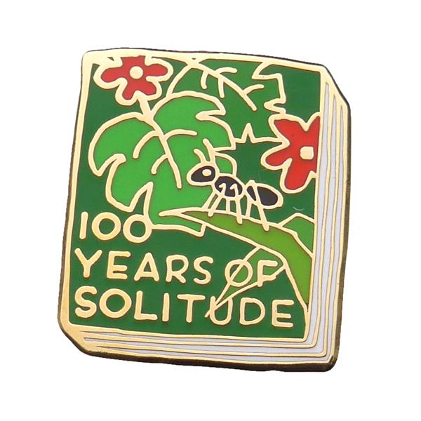 One Hundred Years Of Solitude Enamel Pin