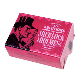 The Ablutions Of Sherlock Holmes Soap