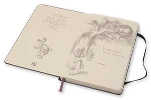 Alice In Wonderland Notebook- Who Are You?