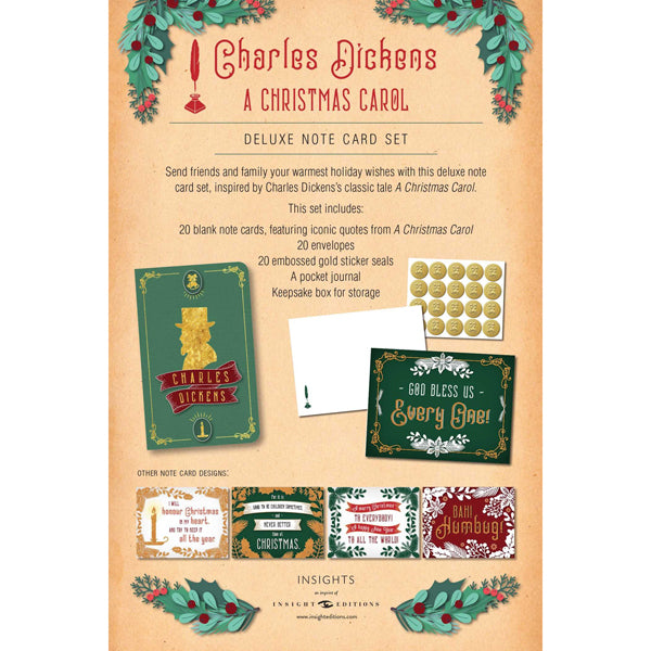 Charles Dickens: A Christmas Carol Stationery Set