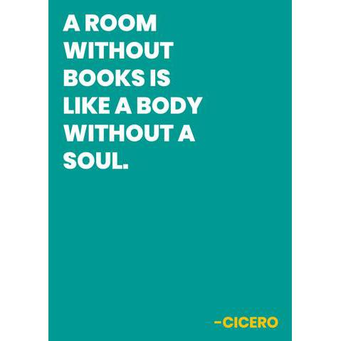A Room Without Books Card