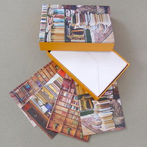 'At Home With Books' Boxed Cards