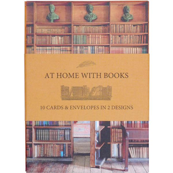 'At Home With Books' Notecards