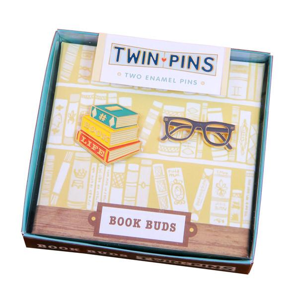 Book Life Twin Pins