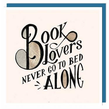 Book Lovers' Card