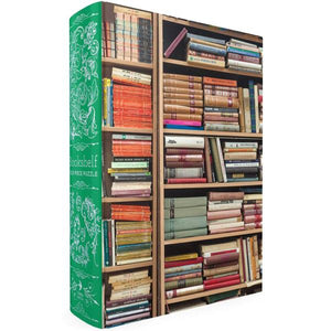 Bookshelf Book Box Jigsaw Puzzle