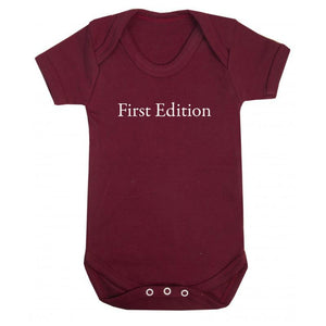 First Edition Onesie