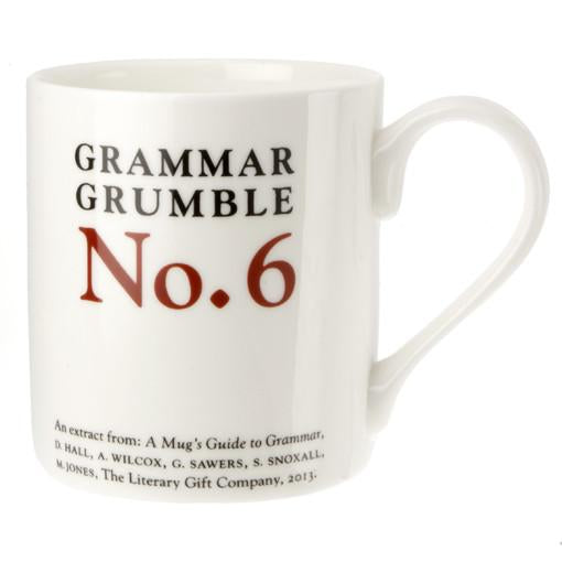 To, Two or Too - Grammar Grumble Mug No. 6