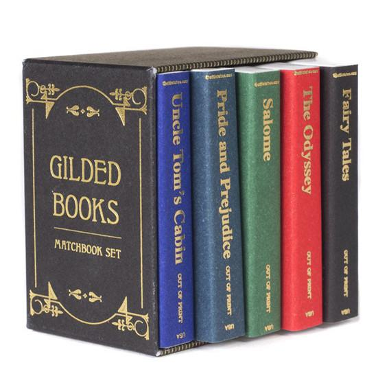 Gilded Books Matches