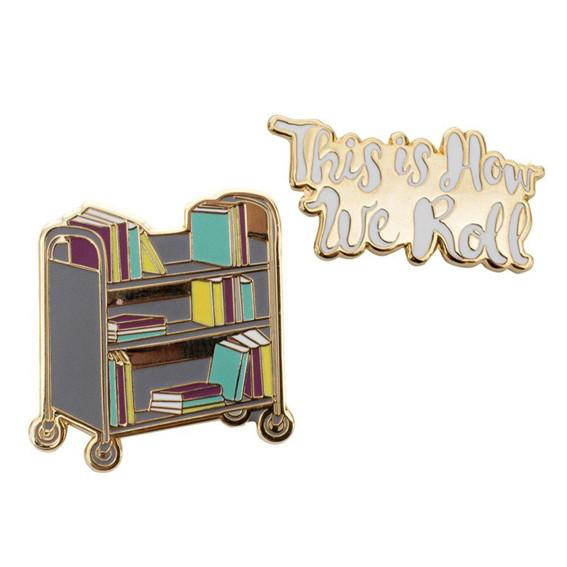 Library Trolley Pin Set