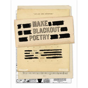 Make Blackout Poetry