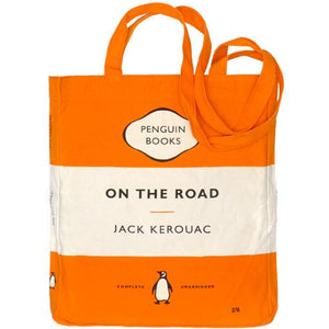 On the Road Penguin Tote Bag