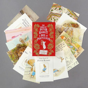 World of Peter Rabbit Postcard Box