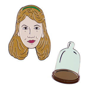 Sylvia Plath Enamel Pin Set
