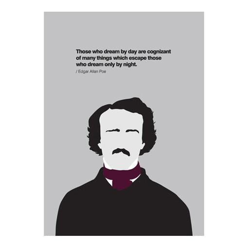 Those Who Dream By Day... Edgar Allan Poe Card