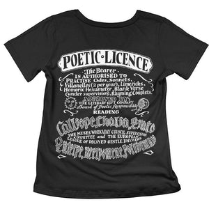 Poetic Licence T-shirt
