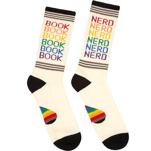 Proud Book Nerd Socks