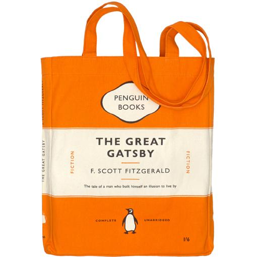 The Great Gatsby Penguin Tote Bag