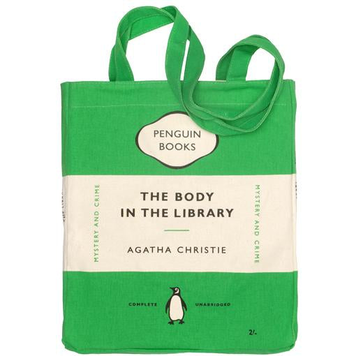 Body In The Library Tote Bag