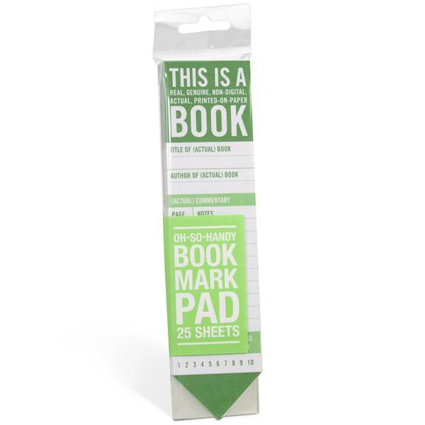 This Is a Book Bookmark Pad