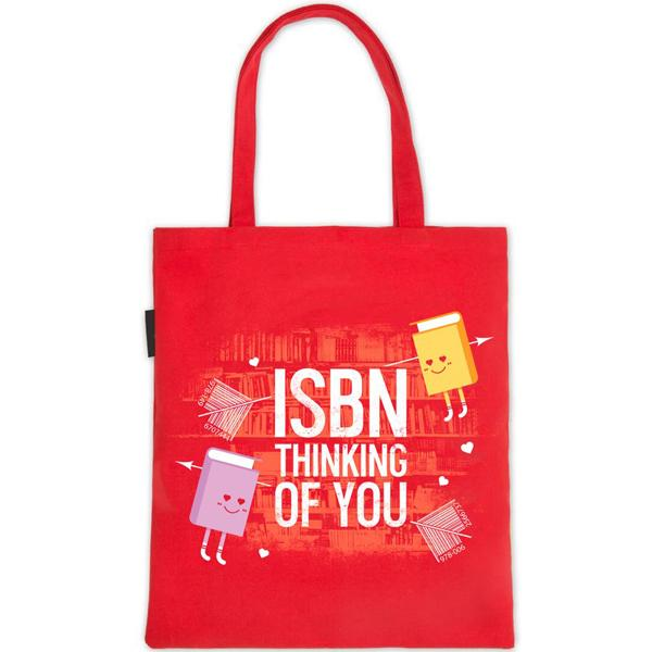 ISBN Missing You Tote