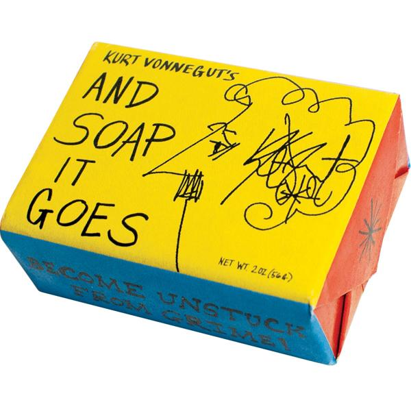 Kurt Vonnegut's 'And Soap It Goes' Soap