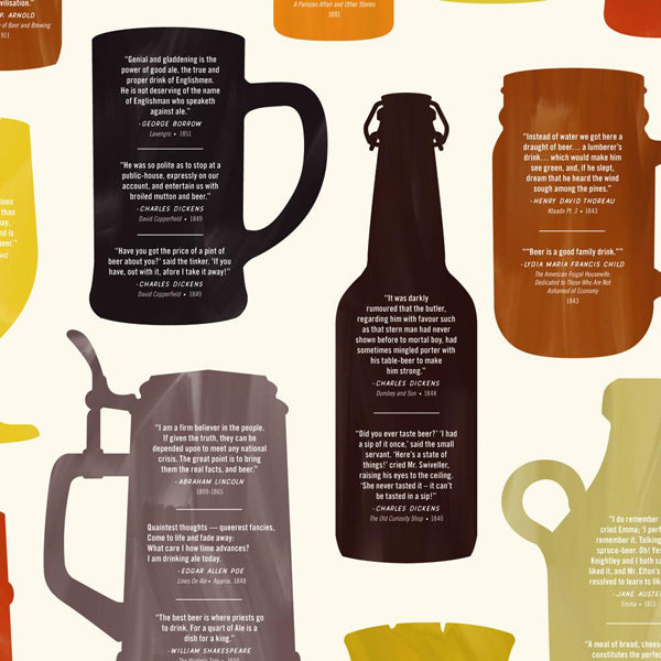 Beer in Literature Chart