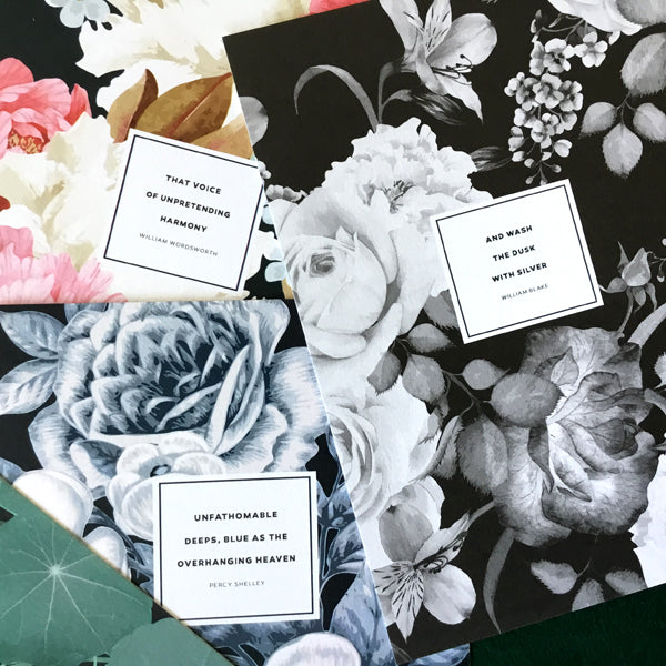 Romantic Poets Postcard Set