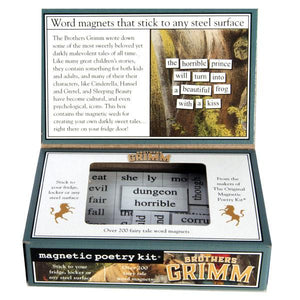 Magnetic Poetry - Brothers Grimm Edition