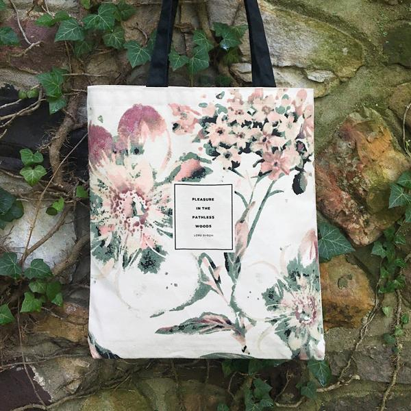 Lord Byron Tote Bag