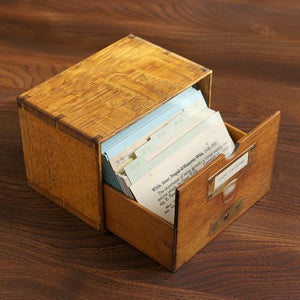 Card Catalog: 30 Notecards from the Library of Congress