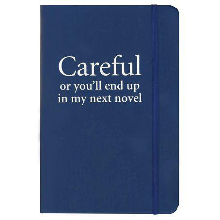 """Careful or you'll end up in my next novel"" Observational Notebook"