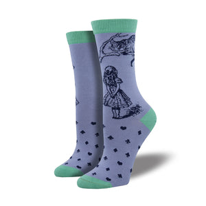 Cheshire Cat Bamboo Socks