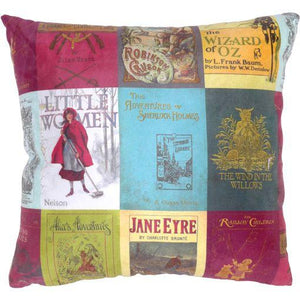 Classic Book Cover Cushion
