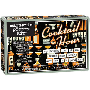 Magnetic Poetry - Cocktail Hour Edition