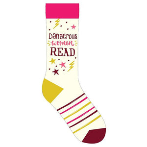 Dangerous Women Read Socks