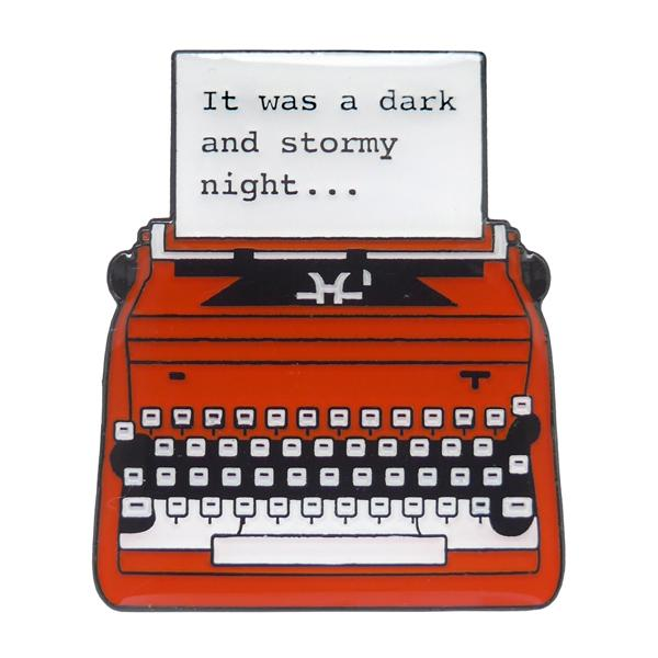 A Dark And Stormy Night Enamel Pin