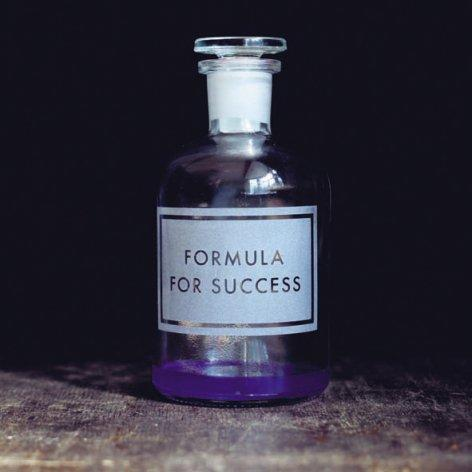 Formula For Success Card