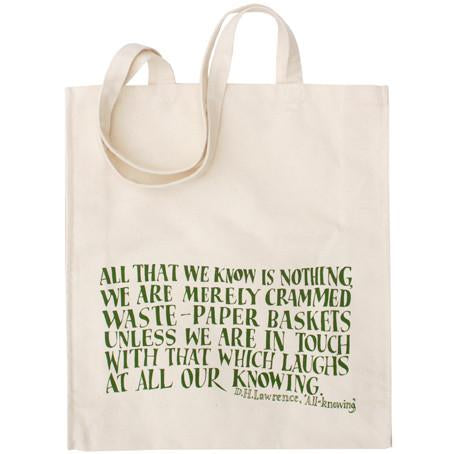 DH Lawrence Canvas Shopper