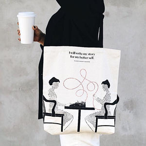 Elizabeth Barrett Browning Tote Bag