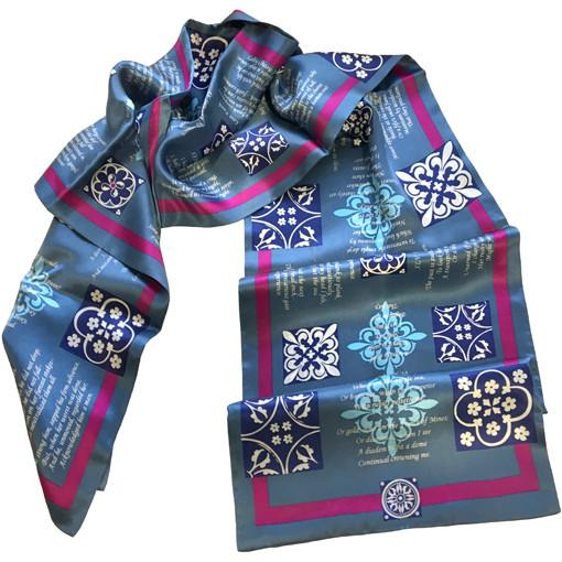 Emily Dickinson Silk Scarf